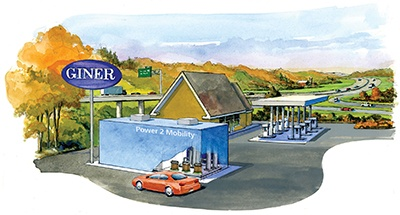 Giner Highway Refueling Station